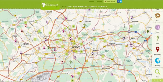 Praktisch und informativ: www.mundraub.org