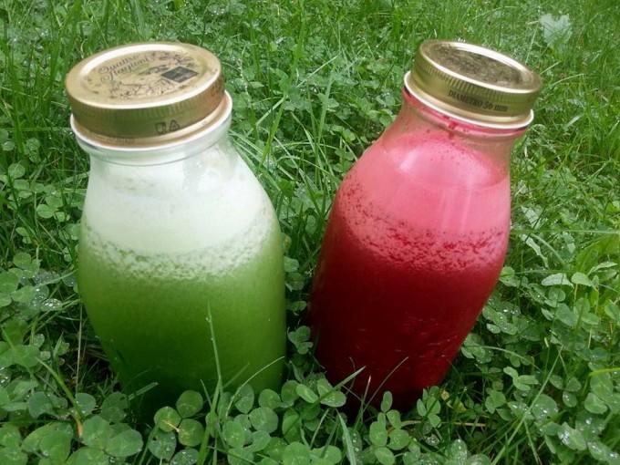 Vitamine aus der Flasche: selbst gemachte Gemüse- und Obstsäfte von Rawdies