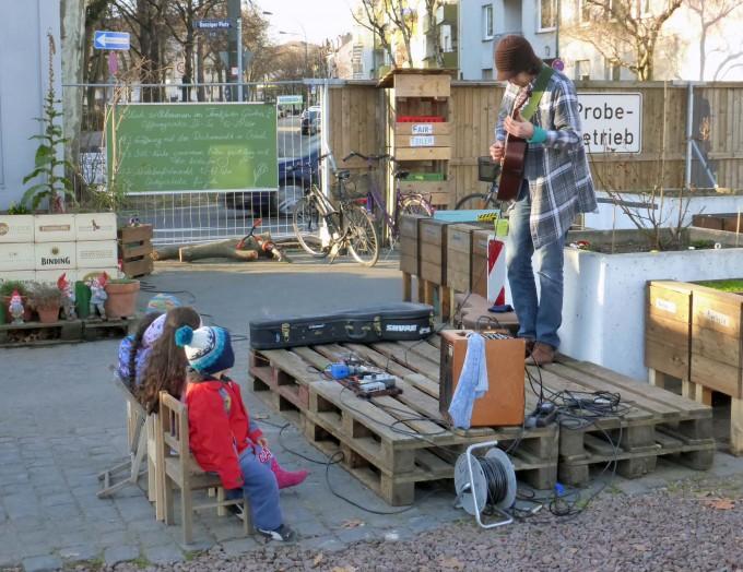 Musiker Frankfurter Garten