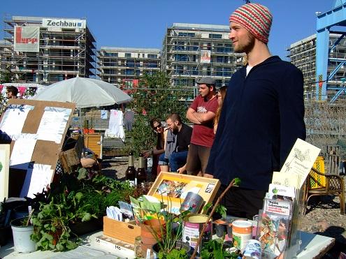 Pflanzenbörse im Offenbacher Hafengarten