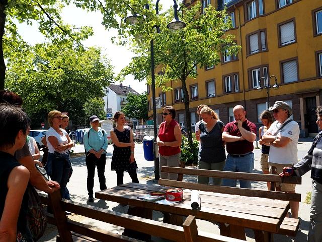 Bockenheimer Garten auf dem Kirchplatz