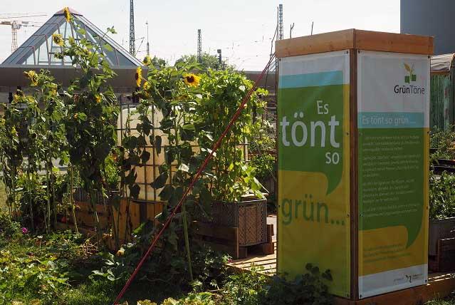 Urban Gardening Frankfurt: GrünTöne am Danzigerplatz