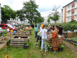 Radtour zu den Gemeinschaftsgärten im Frankfurter Westen @ Griesheimer Bahnhofsgärtchen | Frankfurt am Main | Hessen | Deutschland