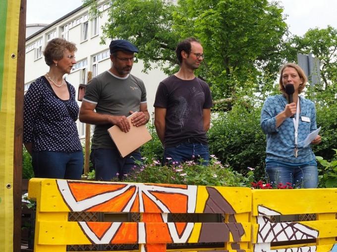 Urban Gardening Frankfurt: Eröffnung des Gallus Garten