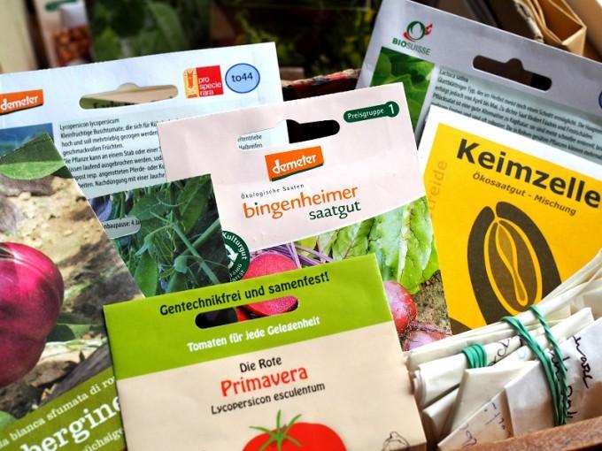Auswahl sortenfester Gemüsesamen