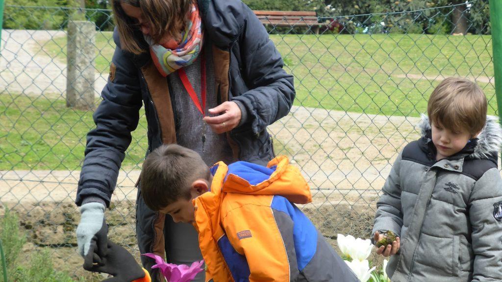 Kinder-Garten in der Frankfurter Wallanlage