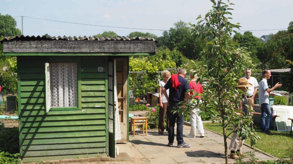 Historischer Kleingarten nach den Plänen von Ernst May