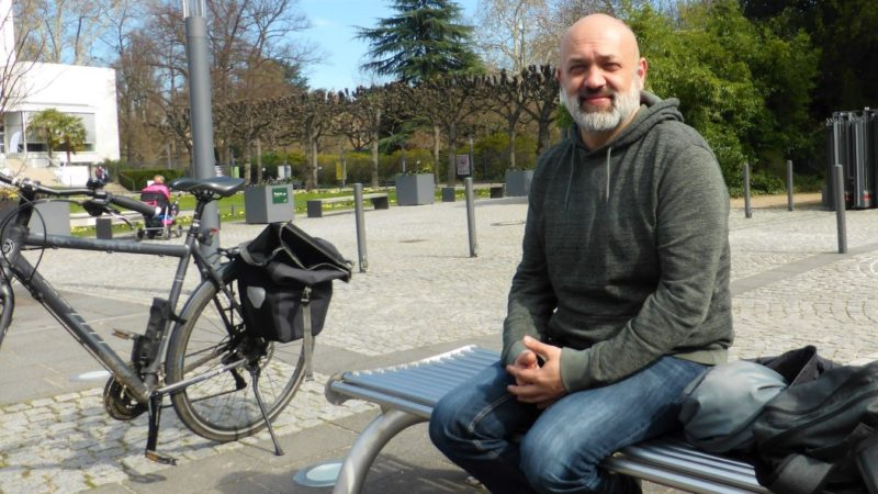 Thorsten Herget, Mitinitiator des Bienenfestivals