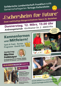Eschersheim for future @ Gemeinschaftsgarten Tortuga